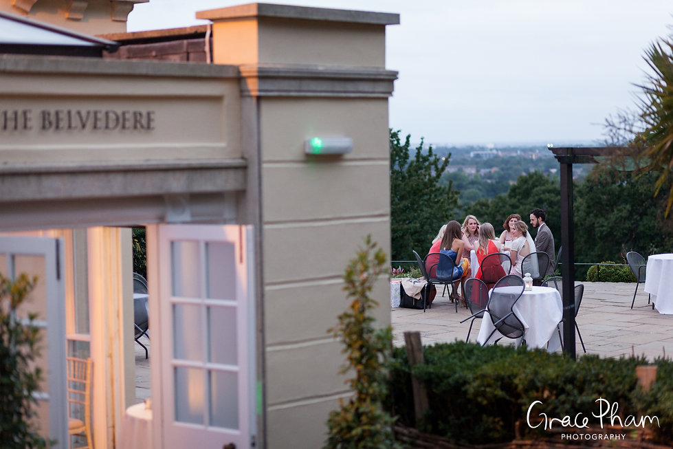 Pembroke Lodge Reception Wedding Photography 09