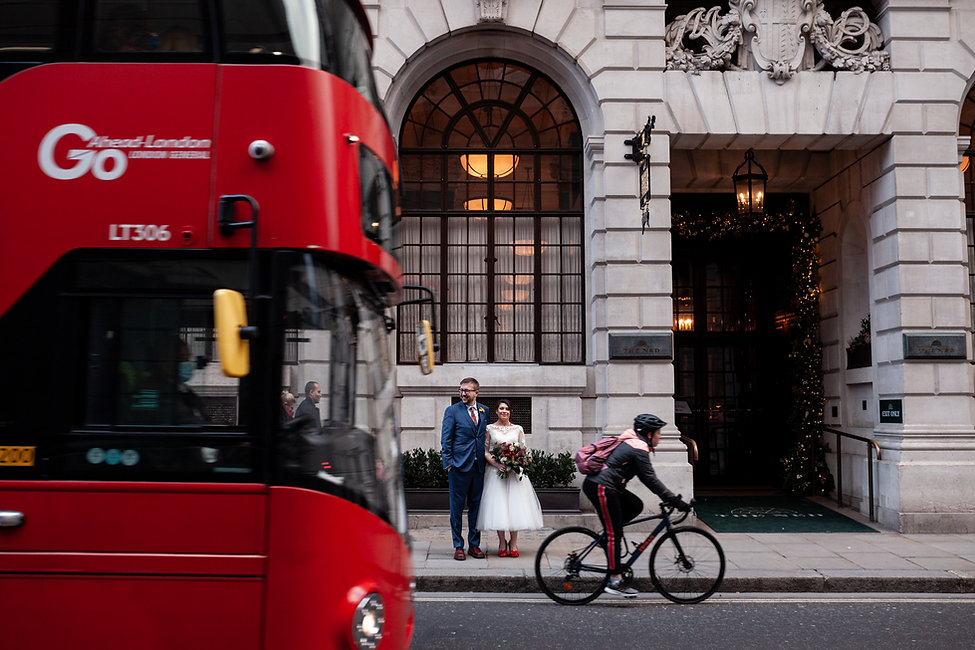 The Ned Wedding reception, London, captured by Grace Pham Photography 02