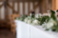 Gate Street Barn Wedding, Reception room, captured by Grace Pham Photography 6