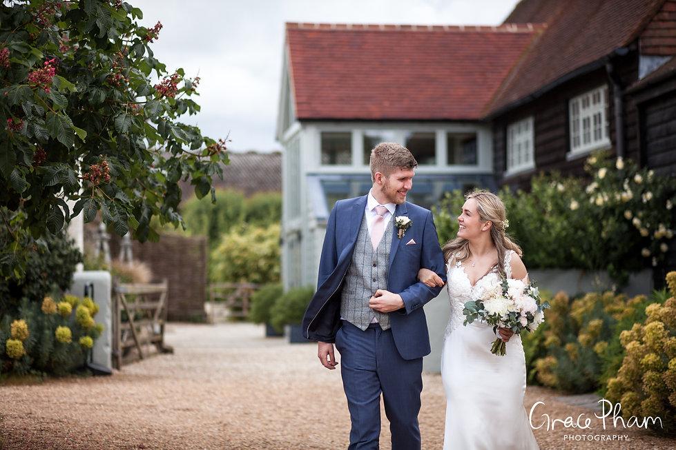 Gate Street Barn Wedding, Luke & Maddie, captured by Grace Pham Photography