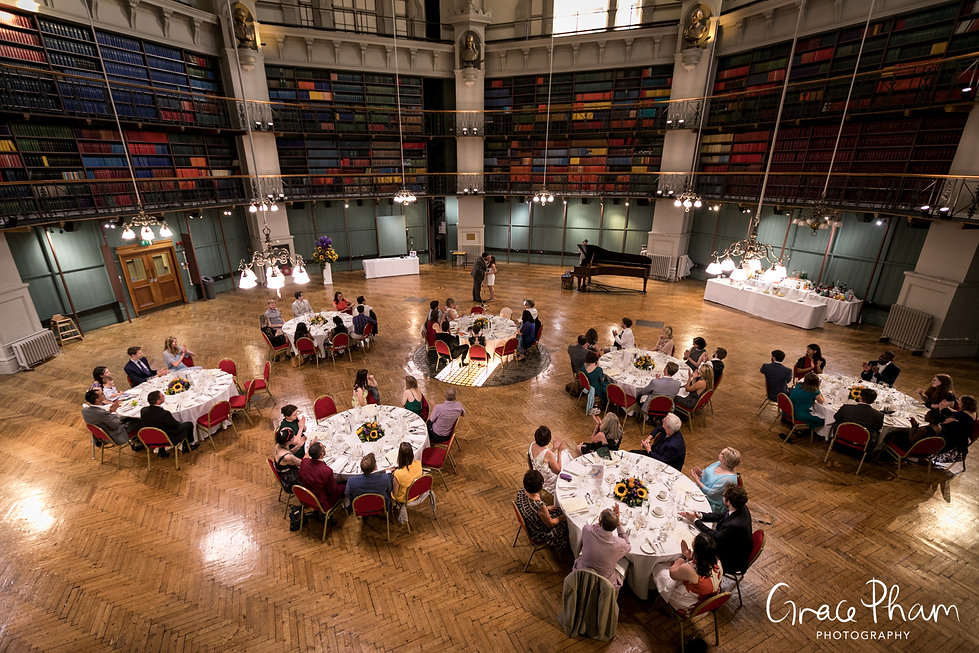 Queen Mary University of London (QMUL) Wedding, The Octagon, Mile End, captured by Grace Pham Photography 5