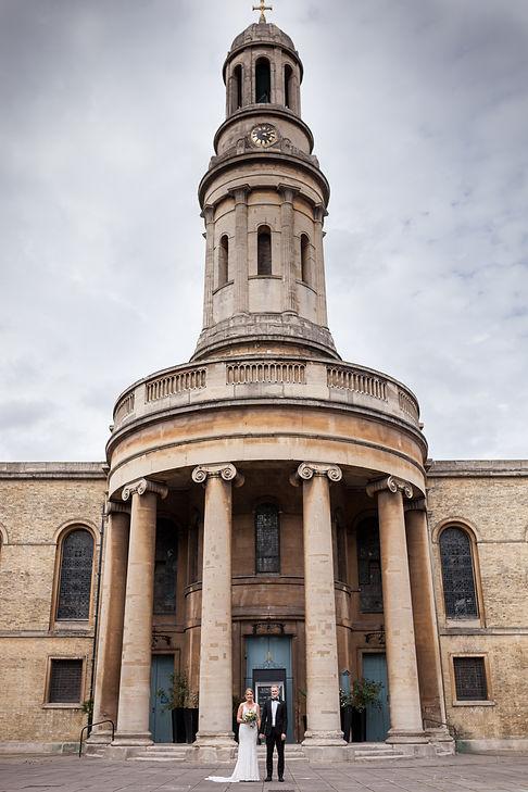Henrik & Ashleigh's Wedding captured by Grace Pham Photography, St Mary's Church London 3