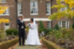 Morden Park House, Merton Register Office Wedding in Autumn 01