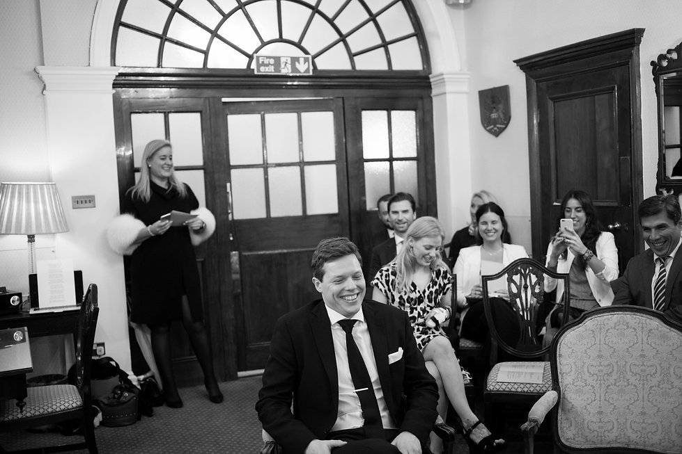 Chelsea Old Town Hall Wedding, London, The Rosetti Room - Grace Pham Photography 03