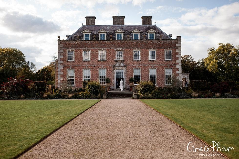 St Giles House Wedding, Dorset, captured by Grace Pham Photography 01