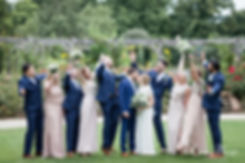 Pembroke Lodge, Richmond Park Wedding by London wedding photographer. Bridal party.