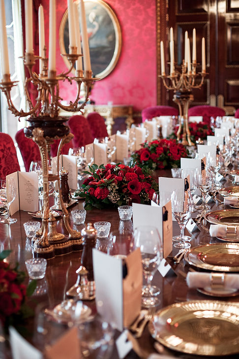 Reception Room. Wedding at The Ritz, London, captured by Grace Pham Photography 2