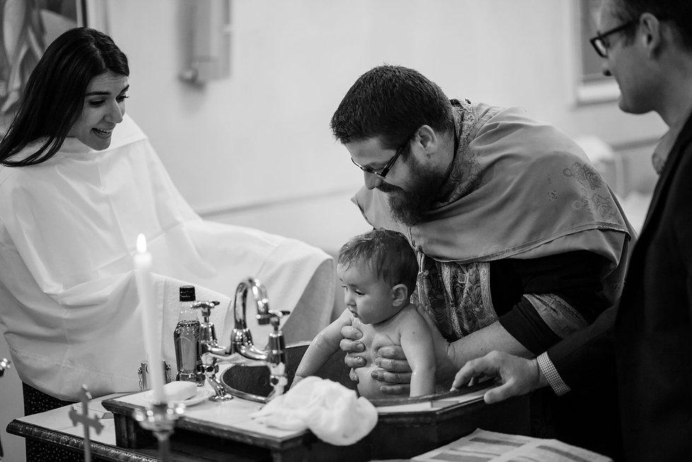 All Saints Greek Orthodox Church Christening Photography, London 04