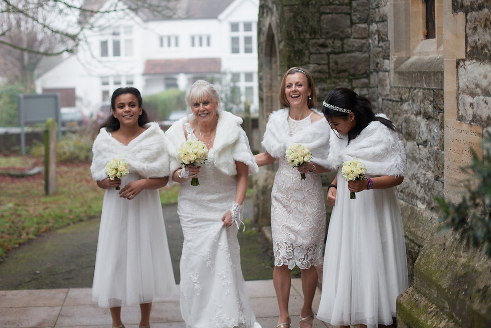 St Mary's Church Wedding, St Mary's Rd, Molesey by Grace Pham Photography 09