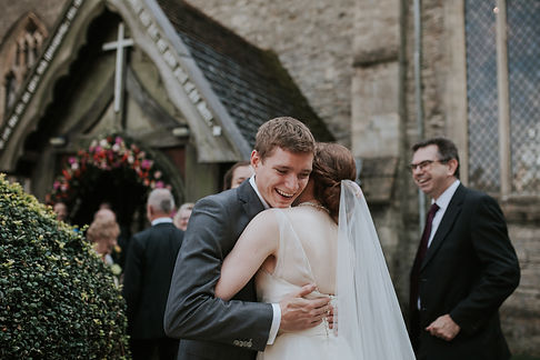 St Mary's Church Wedding, Wootton captured by Grace Pham Photography 13