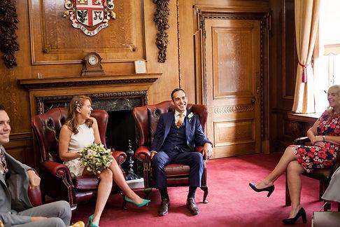 Islington Town Hall Wedding Photography, The Mayor's Parlour 01