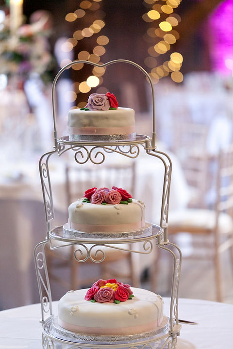 Wedding cake. Great Fosters Wedding captured by Grace Pham Wedding Photographer.