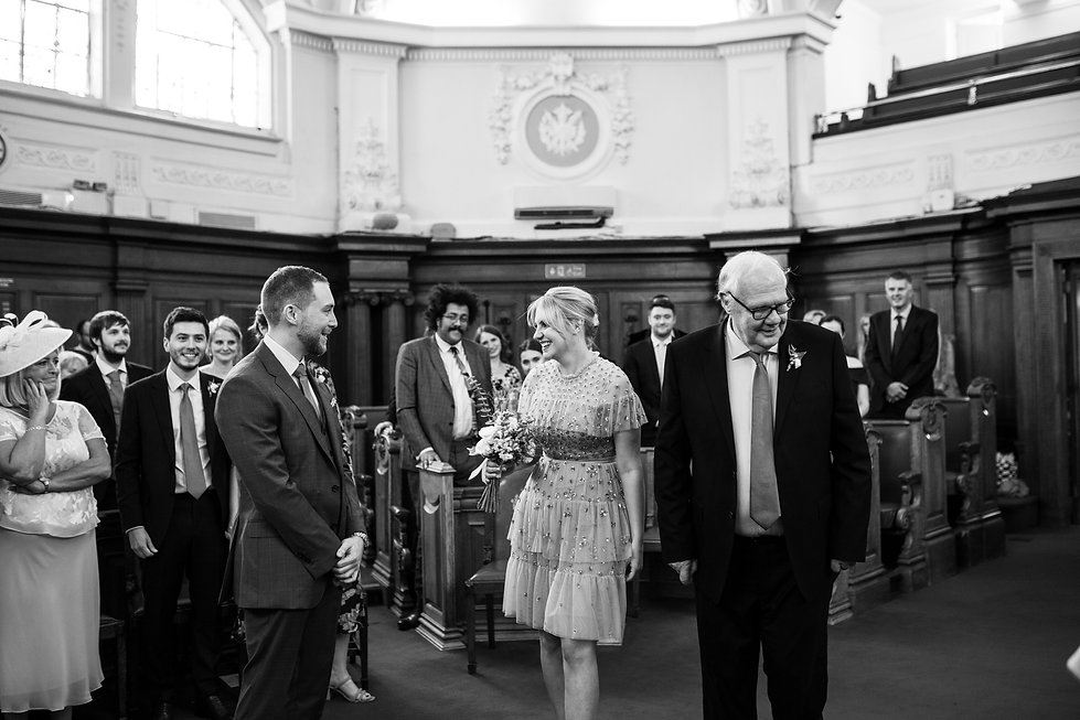 Islington Town Hall Wedding Photography, Tom & Sophie