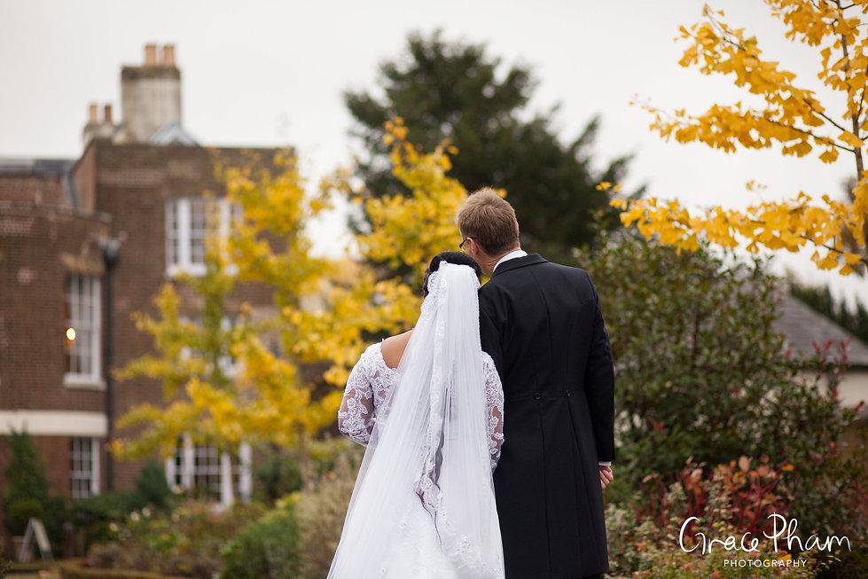Morden Park House, Register Office Wedding in Autumn 02