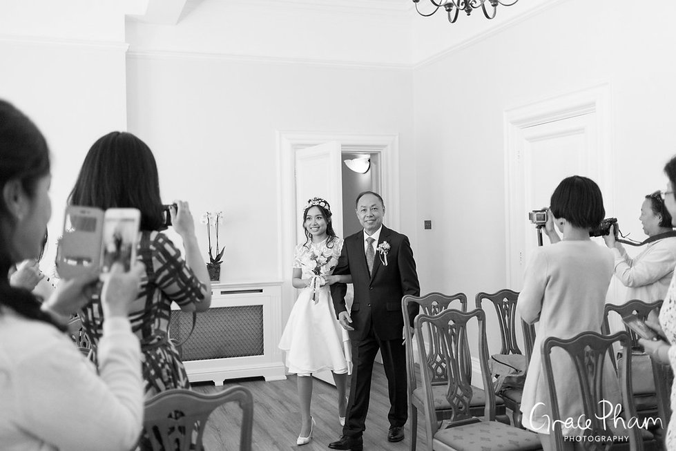 Woolwich Town Hall, Old Royal Naval College & Greenwich Park Wedding Photographer 03