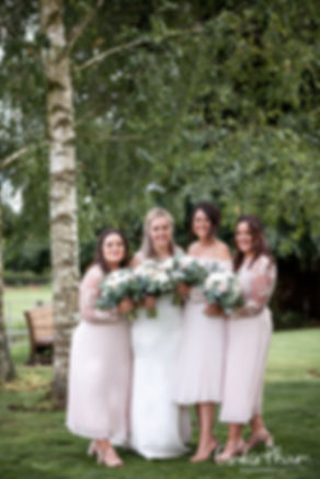 Gate Street Barn Wedding, Bridal Party, captured by Grace Pham Photography 2