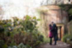 Hampstead Pergola & Hill Gardens Winter Engagement Shoot captured by Grace Pham London Wedding Photographer 06