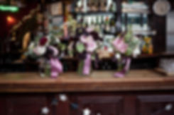 The Peasant pub wedding, London, captured by Grace Pham Photography, Flower Details