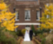 Morden Park House Wedding in Autumn at Merton Registry Office