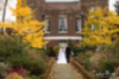 Merton Register Office Wedding in Autumn at Morden Park House