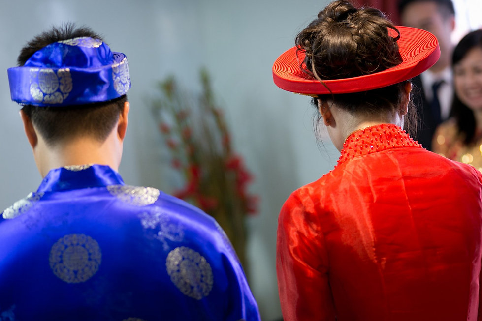 Vietnamese Chinese Wedding Photographer - Yi Ban Greenwich, London