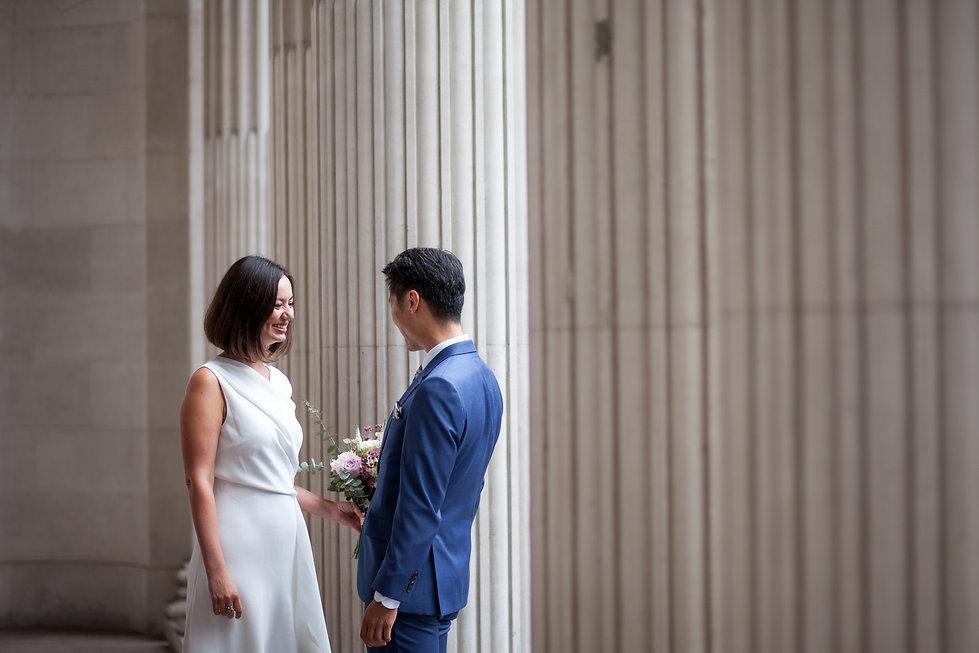 Old Marylebone Town Hall Wedding, London, captured by Grace Pham Photography, Aug 2019
