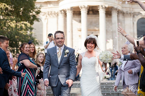 St Paul's Cathedral Wedding, London, Grace Pham Photography 10