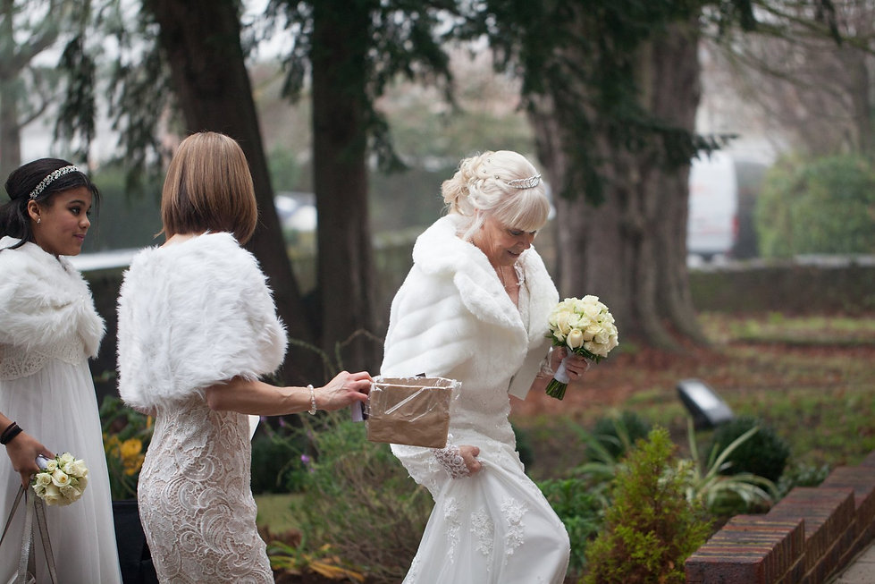St Mary's Church Wedding, St Mary's Rd, Molesey by Grace Pham Photography