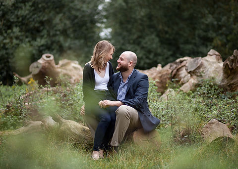Engagement Photograph at Richmond park
