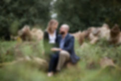 Engagement Photoshoot in Richmond park captured by Grace Pham Photography