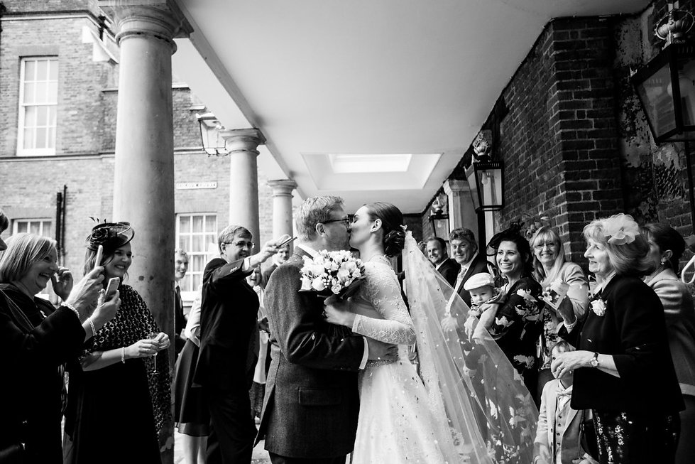 The Chapel Royal in St James's Palace Wedding captured by London Photographer Grace Pham 06