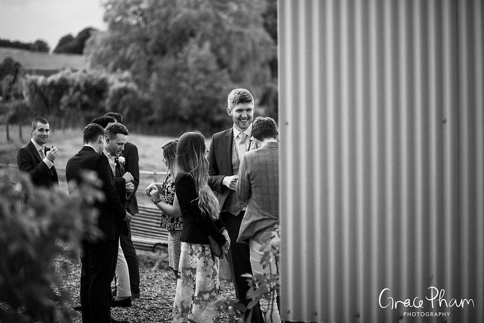 Gate Street Barn Wedding Venue captured by Grace Pham Photography 6