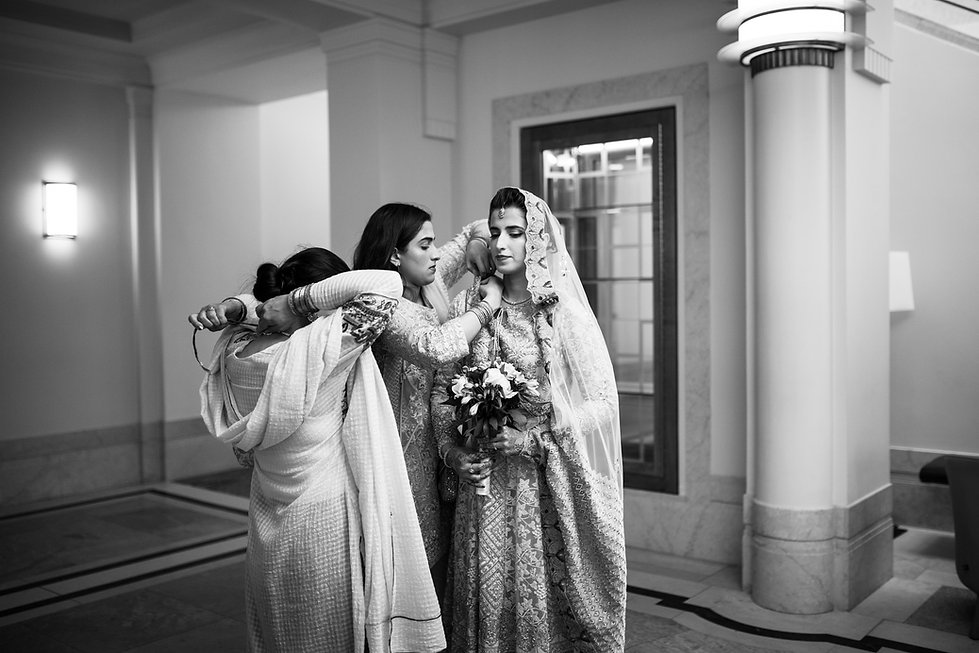 Hackney Town Hall Wedding Photographer-2