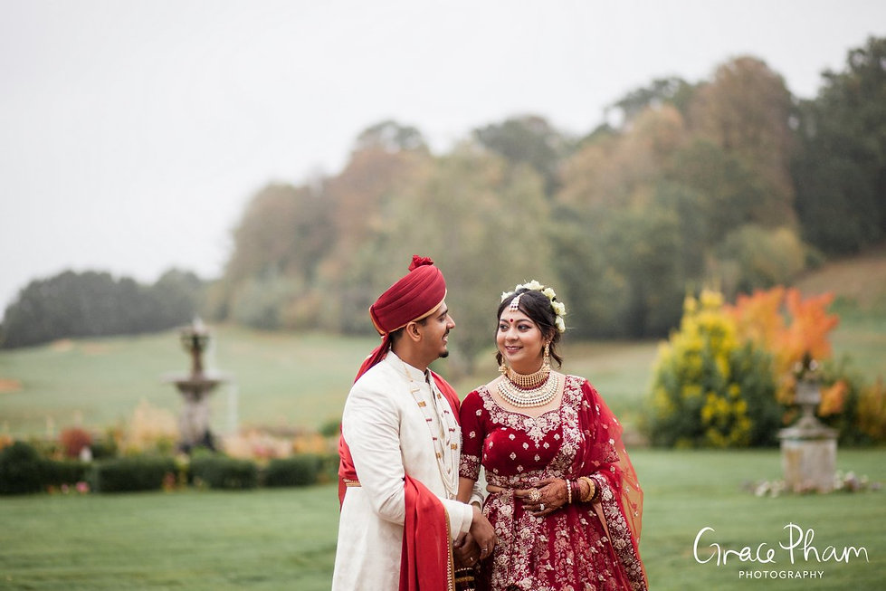 Moor Park Golf Club Mansion Indian Wedding, captured by Grace Pham Photography 09