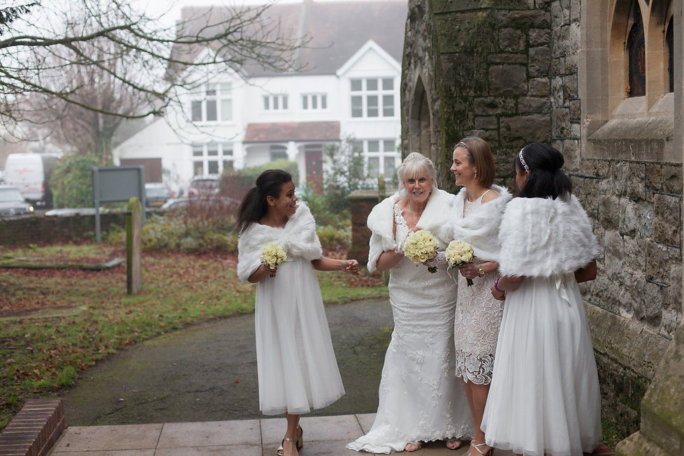 St Mary's Church Wedding, St Mary's Rd, Molesey by Grace Pham Photography 08