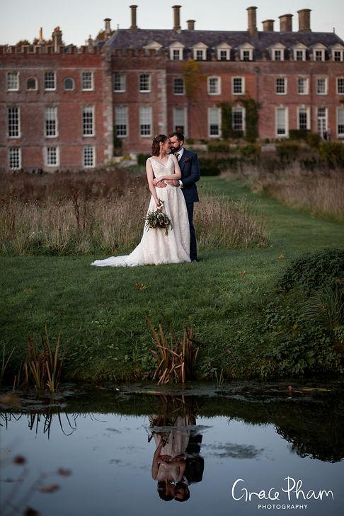 Beautiful St Giles House Wedding, Wimborne captured by Grace Pham Photography 22