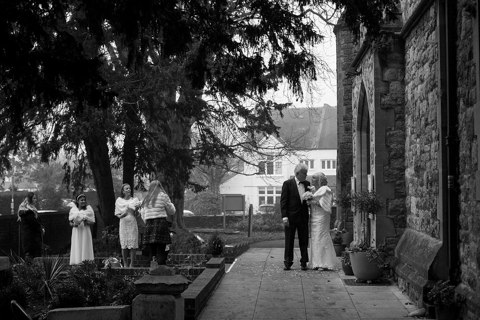 St Mary's Church Wedding, St Mary's Rd, Molesey by Grace Pham Photography 07