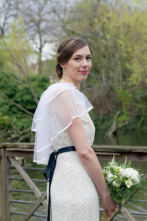 Wedding photos at Manor House Garden, love this shot of the vintage bride, captured by London Wedding Photographer.