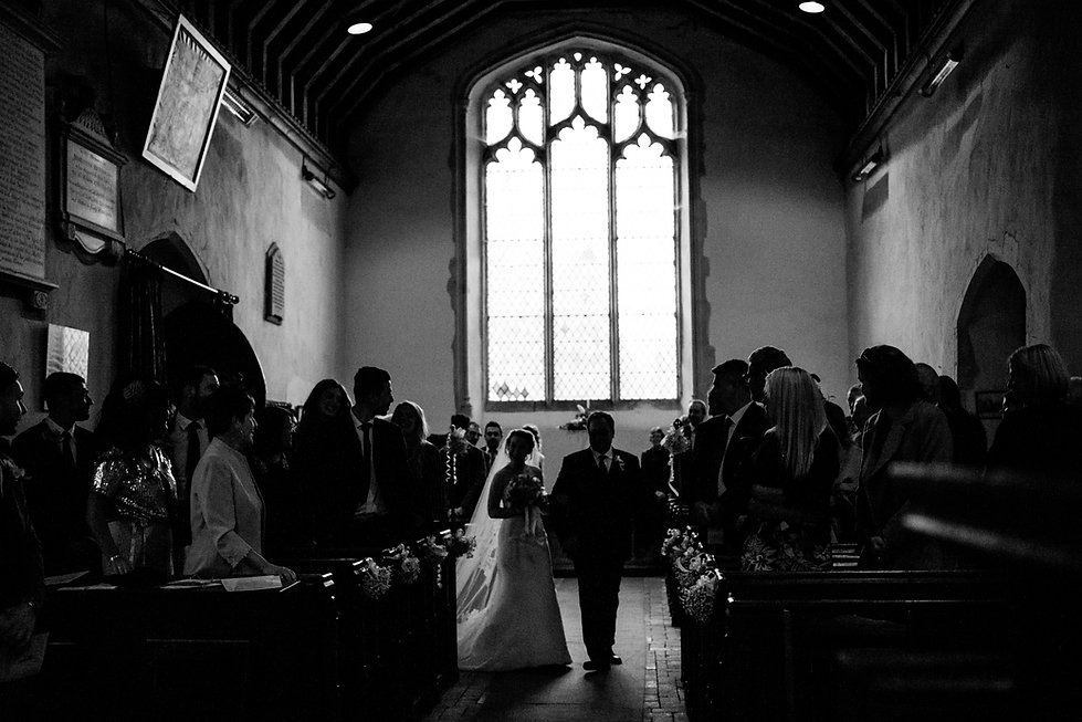 Saint Mary The Virgin Church Wedding, Ipswich, Suffolk, captured by Grace Pham Photography 04