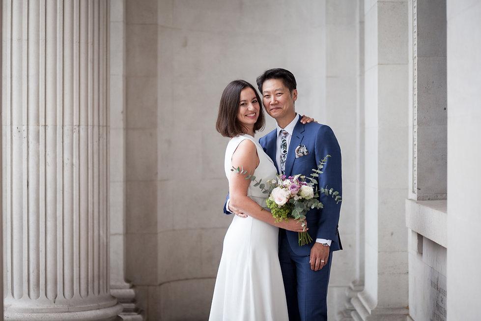 Old Marylebone Town Hall Wedding, London, captured by Grace Pham Photography, Aug 2019 1