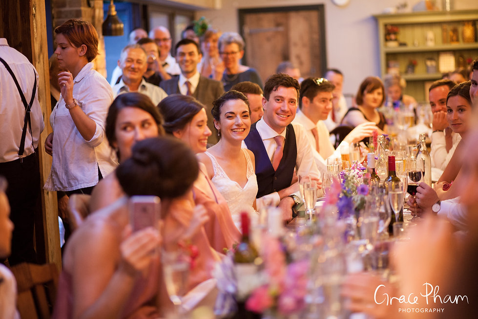 The Country Arms Pub Wedding, The Belvedere, London, captured by Grace Pham Photography 23