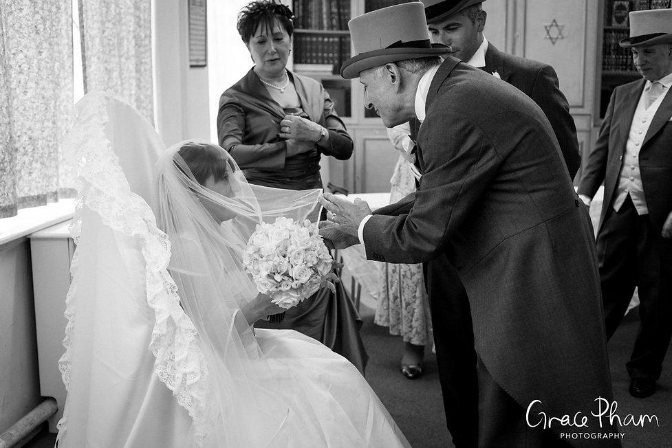 Jewish Wedding Photographer London 07