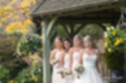 Bridesmaids and bride at Cooling Castle Barn Wedding, by Kent Documentary Wedding Photographer 05