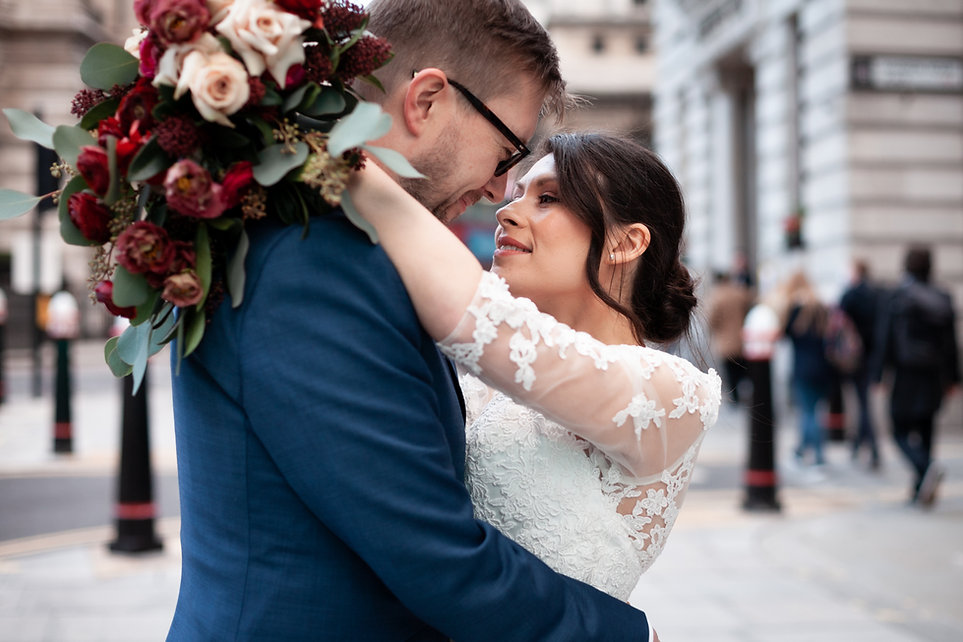 The Ned Wedding reception, London, captured by Grace Pham Photography 21
