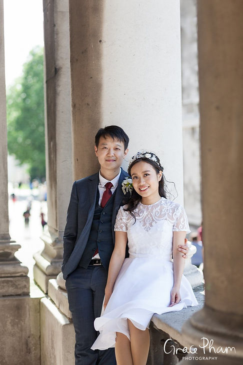 Old Royal Naval College & Greenwich Park Wedding, London Photographer 03