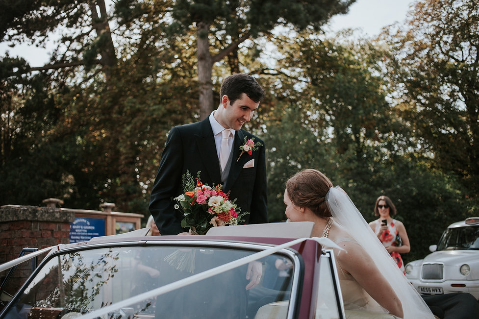 St Mary's Church Wedding, Wootton captured by Grace Pham Photography 15
