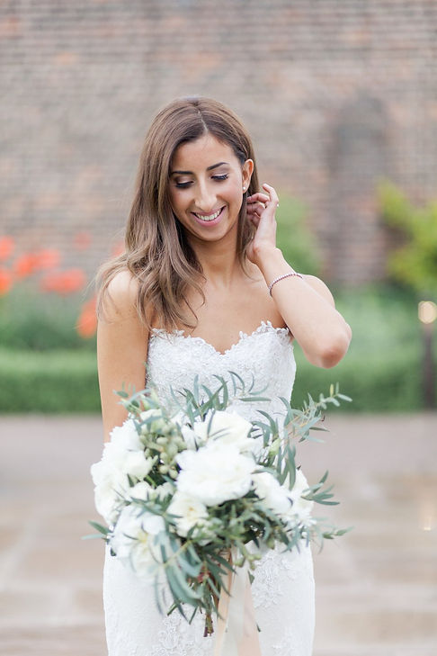 The Conservatory in the Luton Hoo Walled Garden Wedding by Grace Pham Photography 05