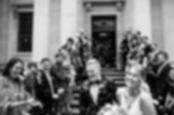 Henrik & Ashleigh's Wedding, Confetti moment captured by Grace Pham Photography, London 2