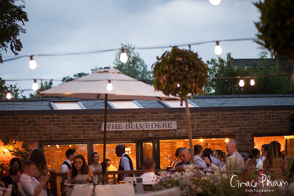 The Country Arms Pub Wedding, The Belvedere, London, captured by Grace Pham Photography 21