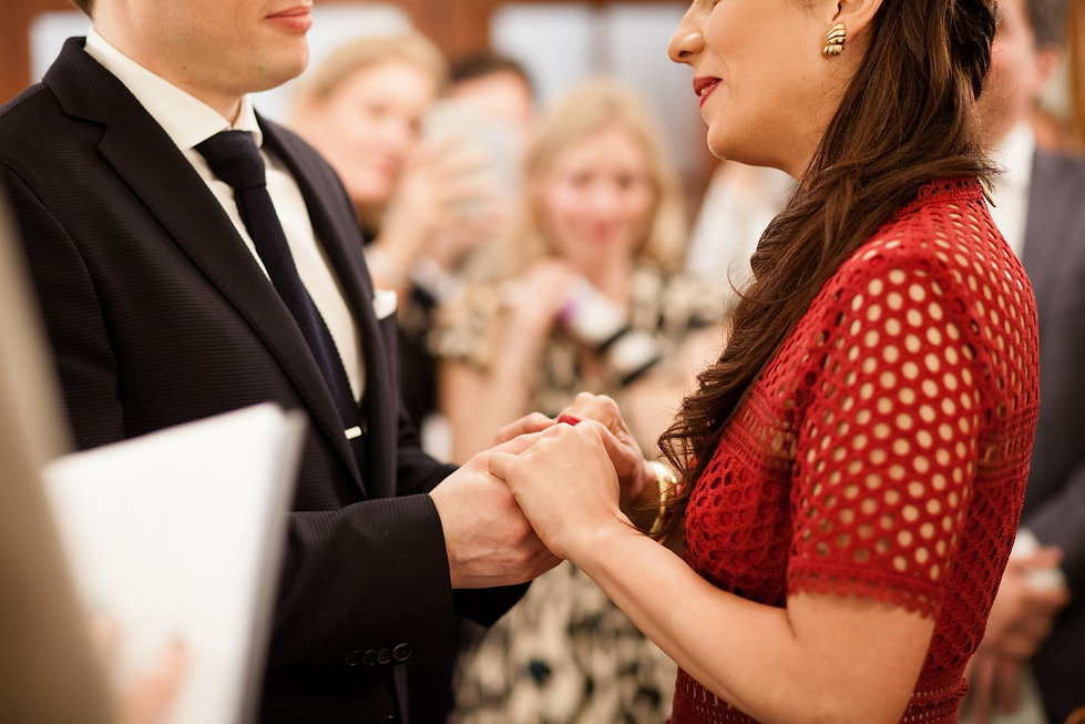 Chelsea Old Town Hall Wedding, London, The Rosetti Room - Grace Pham Photography 06